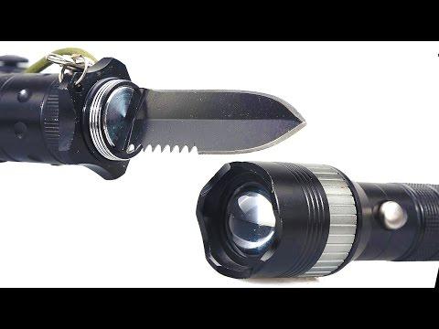 Tactical Flashlight Multi-Tool