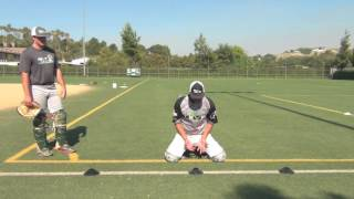 getlinkyoutube.com-Next Level Catching Academy  How to be a better catcher     Blocking, Throwing (Chino Hills)