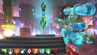 ORIGINS 1.5 w/ GOLDEN ROD EASTER EGG! - BLACK OPS 3 ZOMBIES CUSTOM MAP GAMEPLAY! (BO3 Zombies)