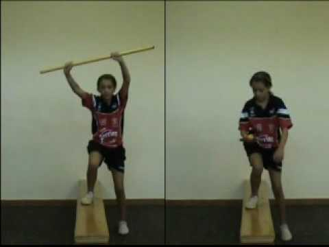 EXERCICES  PREPARATION PHYSIQUE RENFORCEMENT MUSCULAIRE ENFANT ET ADOLESCENT TENNIS DE TABLE.avi