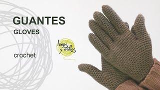 getlinkyoutube.com-Tutorial Guantes Crochet o Ganchillo