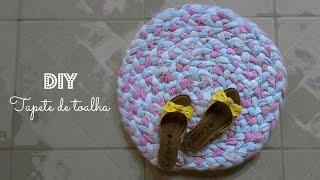 getlinkyoutube.com-DIY - Tapete feito com toalhas