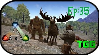 getlinkyoutube.com-Ark: Survival Evolved Ep:35 The Swamp Base So Far and Snow Tames
