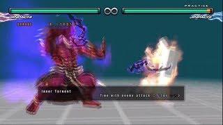 getlinkyoutube.com-Tekken 5 DR - Jinpachi Mishima command list - HD 1080p