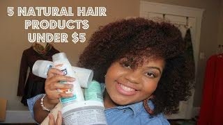 """getlinkyoutube.com-MUST HAVE CHEAP """"Natural Hair"""" Products Under $5 