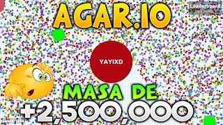 getlinkyoutube.com-AGAR.IO MASA DE 2,624,074 PUNTOS INCREIBLE EXPERIMENTAL + PRIVATE SERVER AGARIO