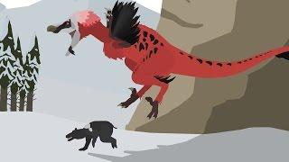 getlinkyoutube.com-UEF: The Beginnings - Dakotaraptor vs Didelphodon (Prologue) | Pivot Animation Series