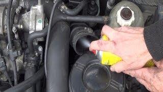 getlinkyoutube.com-AGR ventil reinigen  OHNE DEMONTAGE - Reinigungs-Kit  Test Vorher / Nachher