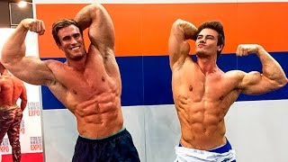 Jeff Seid vs Calum Von Moger - Fitness and Bodybuilding Motivation
