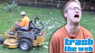 getlinkyoutube.com-Psycho Vater Schreddert GAMES! - WOW Kid: Die krassesten Rage-Videos aller Zeiten! - TrashTheWeb