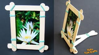 getlinkyoutube.com-How to make a Popsicle Stick Picture Frame?