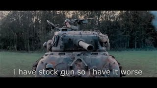 "getlinkyoutube.com-If the movie ""Fury"" was a World of Tanks battle"