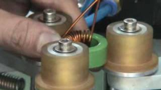 getlinkyoutube.com-WH-200A Simple type hook winding machine
