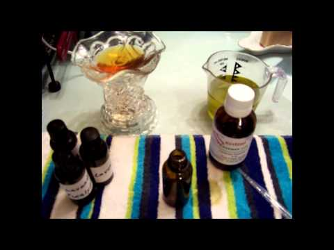 Aromatherapy with Essential Oils in a Tart Burner, with Recipes