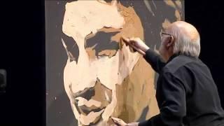 getlinkyoutube.com-رسام يرسم فيديرر فى اربع دقائق      فيديو روعة