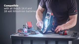 getlinkyoutube.com-Bosch GLI 18V-1900 Professional cordless worklight