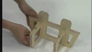 getlinkyoutube.com-The Folding Bed Vikend / design: www.vasja-ambrozic.com / Slovenia 2004