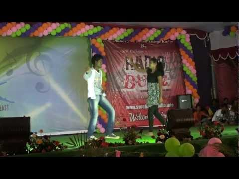 Dance By Vamsi,Sujitha & Harsha on Chiru Hits