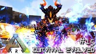 getlinkyoutube.com-MODDED ARK: SCORCHED EARTH - GIANT DRAGON GODS !!! E15 (ARK SURVIVAL EVOLVED GAMEPLAY)