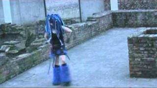 getlinkyoutube.com-Industrial Dance by Suma to Eisenfunk - Super Space Invaders