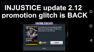 getlinkyoutube.com-Injustice Mobile Android: 2.12 Promotion Glitch is back