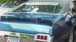 1972 455 Oldsmobile Olds 442 W/ Flowmaster Muffs Idle & REV