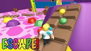 getlinkyoutube.com-Roblox / Escape Candy Land Obby?! / Gamer Chad Plays