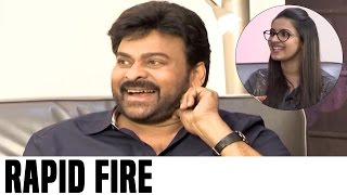 getlinkyoutube.com-Niharika Rapid Fire With Chiranjeevi | Hilarious