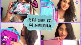 getlinkyoutube.com-TAG: Que hay en mi mochila♡ / back to school #Valelulyrod