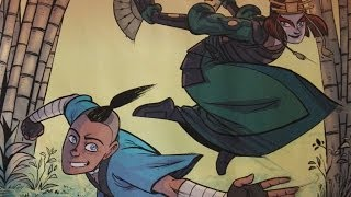 Avatar - Shells: Suki and Sokka (FULL COMIC)