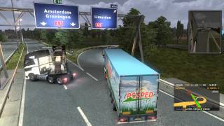 Euro Truck Simulator 2 Multiplayer - Idiots on the road Pt 1