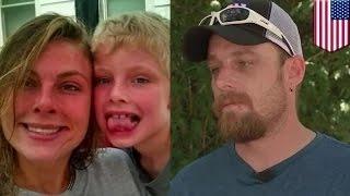 getlinkyoutube.com-رجل اطفاء من تكساس يلبي نداء الواجب ليجد ابنه وزوجته في مكان الحادث