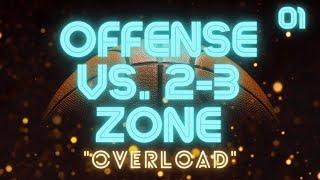 "getlinkyoutube.com-""Overload"" Offense vs. 2-3 Zone Defense"
