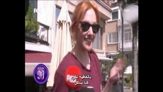 getlinkyoutube.com-عدسات باباراتزي تطارد النجمه مريم اورزلي ( السلطانه هيام ) مع خطيبها جان اتاش 2013