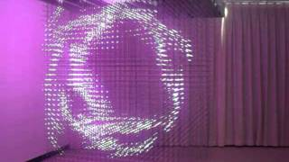 getlinkyoutube.com-3D LED Hanging Cube (32*32*32=32768 pixels)