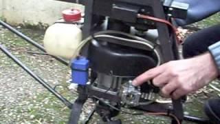 rc heli homemade new muffler test.AVI