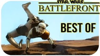 getlinkyoutube.com-Star Wars Battlefront (Beta) BEST OF FUNNY MOMENTS COMPILATION (Funny Moments)