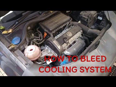 VW 1.4 Jak odpowietrzyc uklad chlodzenia 1.4 Audi, Seat, Skoda HOW TO BLEED COLLING SYSTEM