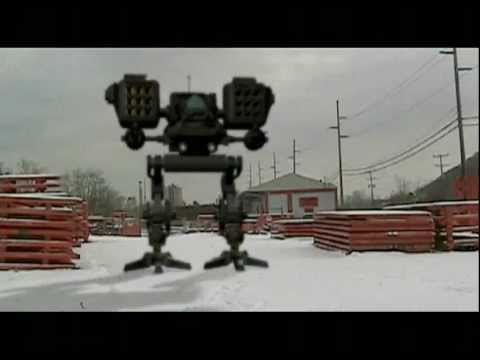 Robert Egnacheski - 3D Mech Missile Animation Test