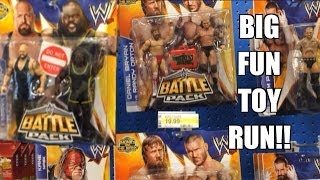 getlinkyoutube.com-WWE ACTION INSIDER: Target has Battle Pack 27! ToysRus Kmart Wrestling Figure Aisle Mattel toys!