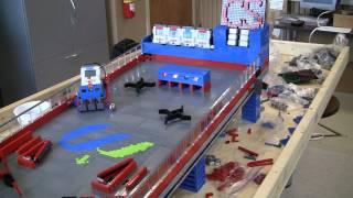 getlinkyoutube.com-Lego NXT Pinball Machine - Gameplay test #3