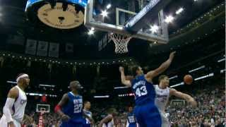 Humphries Perfect Block on Alley-oop Attempt