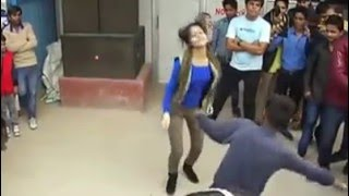 getlinkyoutube.com-Whatsapp Funny Video-Indian-dance comptition with girl and boy--you cant stop laughing