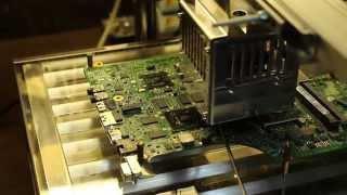 getlinkyoutube.com-061 Наблюдаем, как инфракрасная паяльная станция Best-007 Pro Infrared BGA отработала.