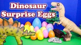 getlinkyoutube.com-SURPRISE EGGS Dinosaur Surprise Eggs Candy and Toys a Surprise Egg Toys Video