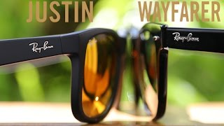 Ray-Ban Justin vs Original Wayfarer