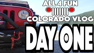 getlinkyoutube.com-COLORADO ROADTRIP! - Jeep Offroading Adventure Vlog Day One
