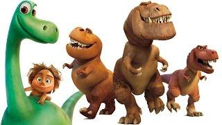 getlinkyoutube.com-O Bom Dinossauro Legal vídeo de música Zootopia Procurando Dory Divertida Mente Disney Pixar