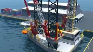 Oil Rig 3D Animation - Trinity Animation