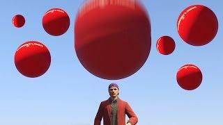 getlinkyoutube.com-DODGE THE BOUNCY BALLS! (GTA 5 Funny Moments)